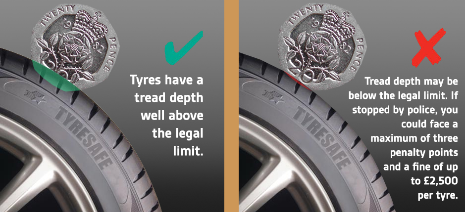 Tread depth image of a tyre - Tyres Wythenshawe - Order Tyres Online
